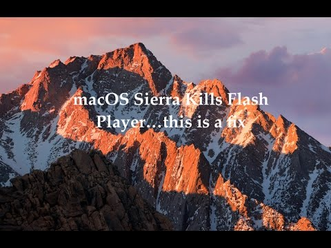 How to Fix Flash Problem on iMac - Problem playing flash on MacBook Pro