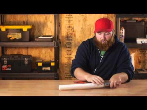 Loosening a Rusted Plumbing Slip Nut : Plumbing Fixes