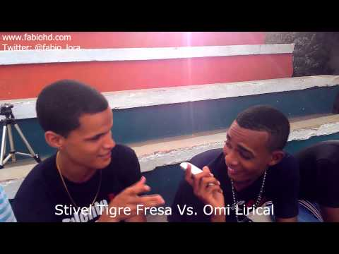 Video: Stivel Tigre Fresa Vs Omi Lirical en Tiradera fuerte!!!!