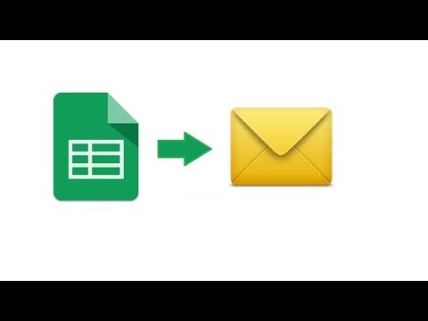 Send emails automatically from a Google spreadsheet | X-ref