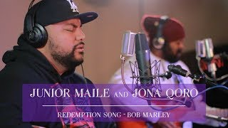Redemption Song - Bob Marley - Junior Maile & Jona Qoro Acoustic Cover