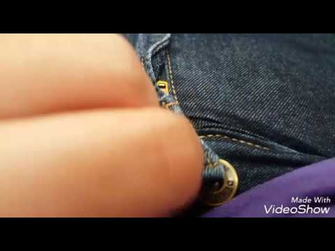 Jeans too tight? Easy quick fix!
