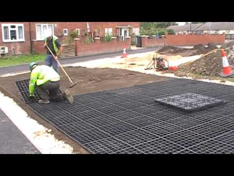 Car Park Surfacing and Parking Reinforcement With Gridforce