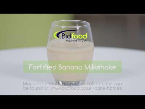 Fortified Lotus Biscoff banana milkshake | Bidfood