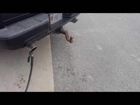 2005 Ford 6.0 Powerstroke E-test - Ontario drive clean sh*t. Crazy snap test!! Does she Blow up??