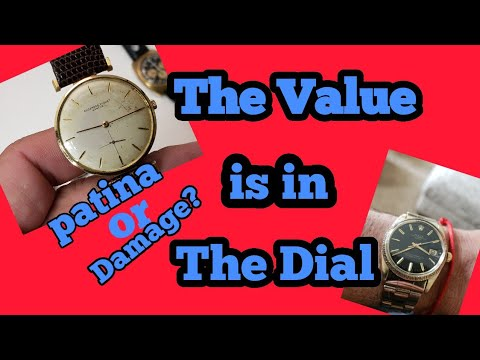 Watch Dial, Patina Or Damage! The value is in the Dial.