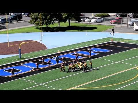 North Grants Pass MM Warriors | Pop Warner Football | Week 2 Highlights @ North Medford