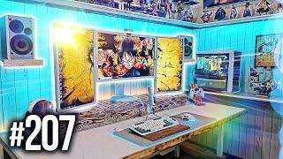 Room Tour Project 207 - BEST Gaming Setups!