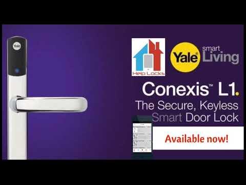 Yale Conexis L1 Smart Door Lock on the Help Locks App: https://www.helplocks.com
