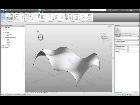 Revit Conceptual Massing Environment - A How To Guide