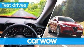 Alfa Romeo Stelvio 2018 Point of View  | Test Drive