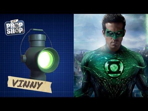 Make Your Own Green Lantern - DIY Prop Shop