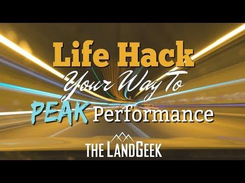 Life Hack Your Way To Peak Performance