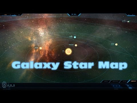 Star Citizen - The Ark Star Map - First look