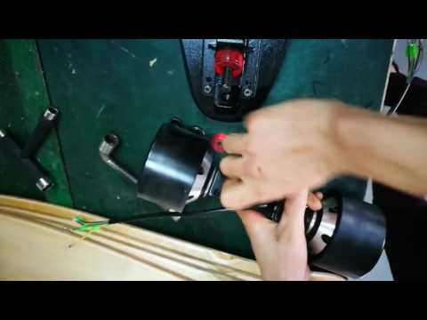 electric skateboard------How to remove the wheel