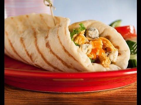 Grilled Buffalo Chicken Wrap