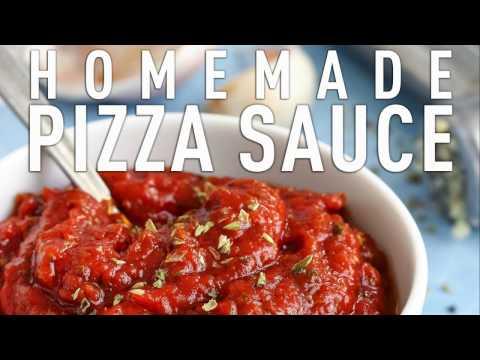3-Minute Homemade Pizza Sauce Recipe | HappyFoods Tube