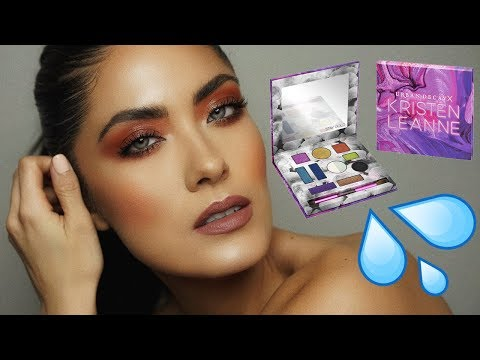 Edgy GLOSSY Editorial Makeup | Melissa Alatorre