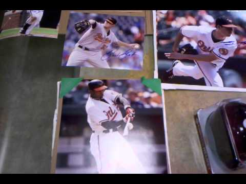 2012 Baltimore Orioles Fan Fest IP Autographs