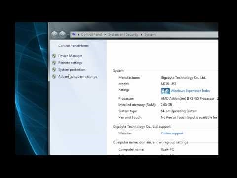 How To Find All System Properties In Windows 7
