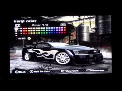 NFS Most Wanted How to Make Razor's Car