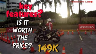 Honda ADV 150 first ride and impression | first look | key features | honda philippines