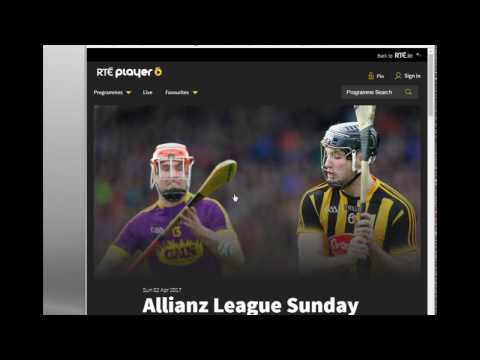 Streaming RTE Real Player Outside Ireland