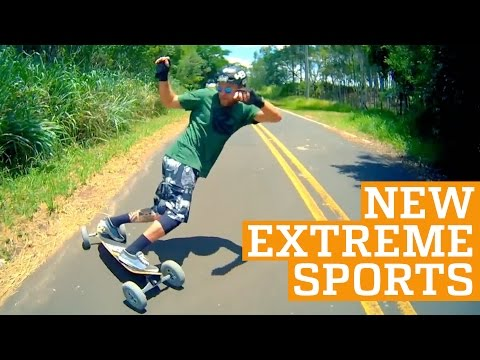 TOP THREE NEW EXTREME SPORTS - Freeline Skates, 2Wheel & Carveboard | PEOPLE ARE AWESOME