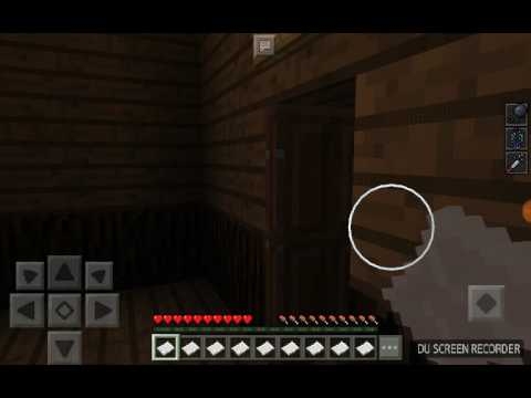 Playing a horror map with my dad in MCPE 1.1.3.1!!!!!!
