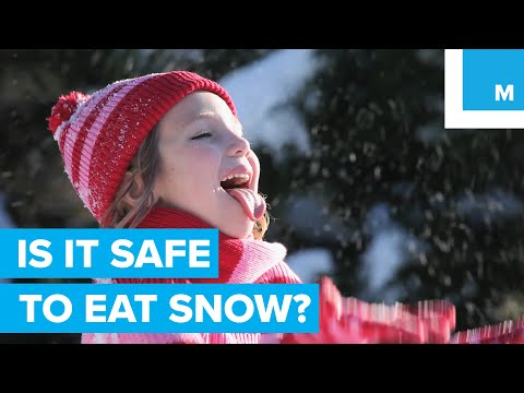 Is It Safe to Eat Snow? - Sharp Science