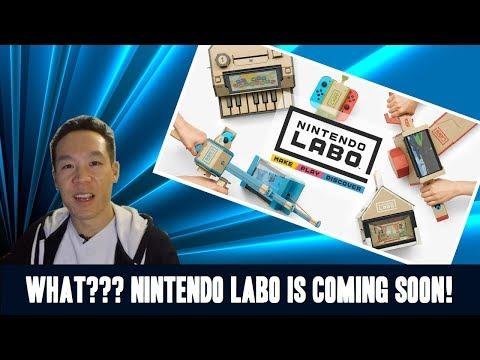 Nukem384 News: Nintendo Labo – The New Switch 4D Experience Video!