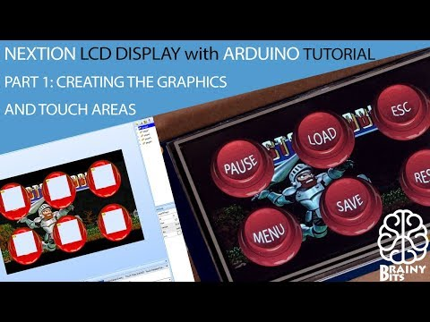 Using a Nextion Display with Arduino Leonardo - Part 1 - Tutorial