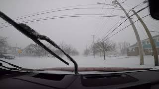 2016 Mazda CX-9 AWD in SNOW. 1-4-18 Blizzard. NY