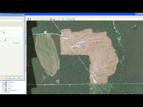 How to make a KML file in Google Earth