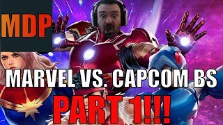 DSP Gaming Playing Marvel vs. Capcom Infinite  In A Nut Shell Part 1