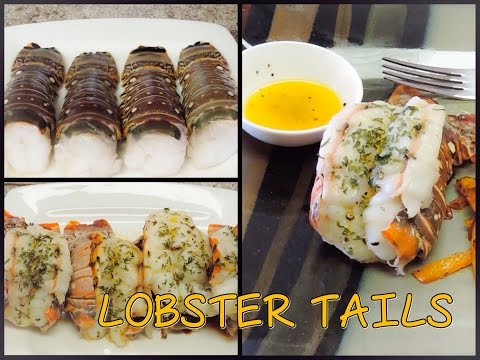 Baked Lobster Tails (My first cooking video!)