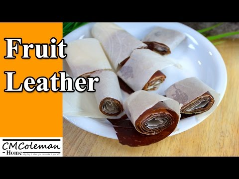 How To Make Easy Homemade Fruit Leather, In Your Oven