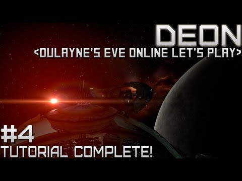 Lets Play EVE Online - Tutorial Complete!
