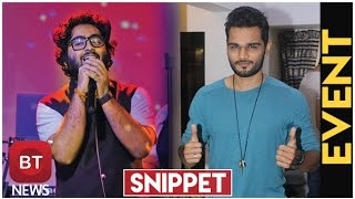 Yasser Desai talks about  being compared with Arijit Singh