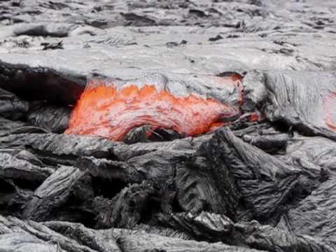 Kilauea Lava Flow June 16, 2010