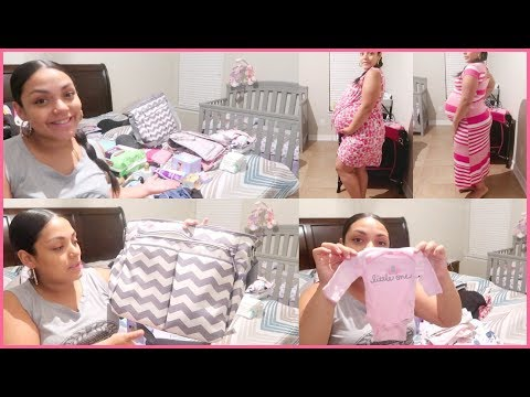 What's In My Hospital Bag/ Baby's Bag. 2nd Pregnancy. 36 Weeks Pregnant!