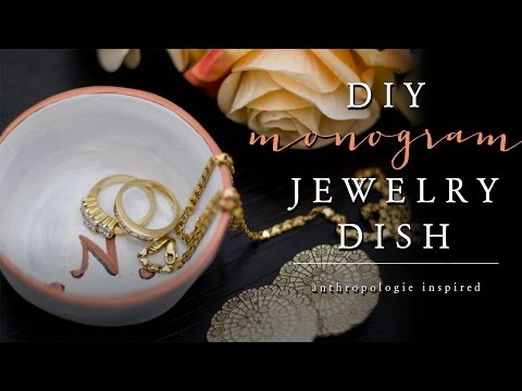 DIY Jewelry Dish | How to Make a Ring Dish