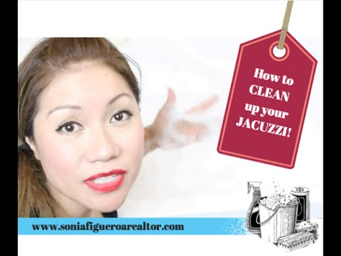DIY: How to Clean Your Jacuzzi Jetted Tub | Home Inspection| Chicago Realtor