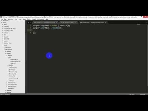 how to get current url in casperjs