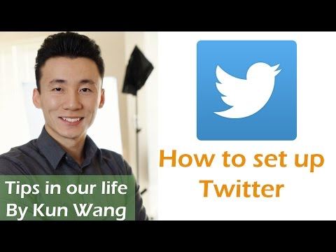 How to use Twitter(setting up) on iPhone and iPad, Tips in our life.