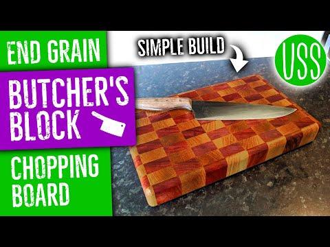 Simple End Grain Chopping Board
