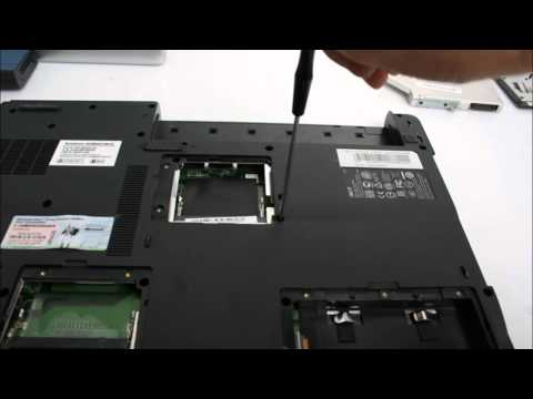 Acer Aspire 9300 노트북 분해(Laptop disassembly)
