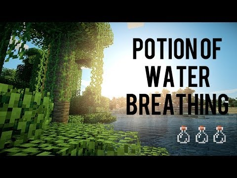 How To Make Potion Of Water Breathing In Minecraft 1.7.2