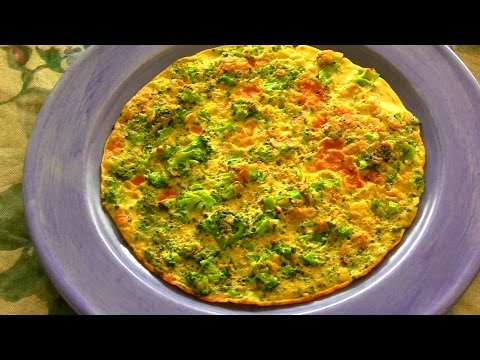 Broccoli & Flax Seed Omelet with Oats ★ Perfect, Healthy Breakfast - Fitappy.com