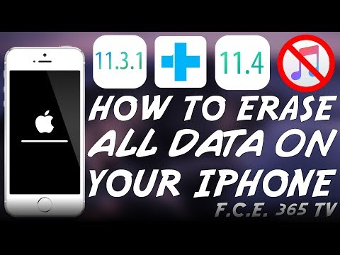 How to ERASE All Data And App Junk From Your iPhone on iOS 11.4/11.3.1